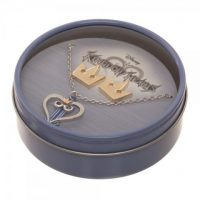 Kingdom Hearts II – Logo Necklace & Crown Earrings Set Gift Sets