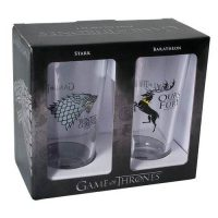 Game of Thrones Stark and Baratheon Pint Glass 2-Pack Pint Glasses