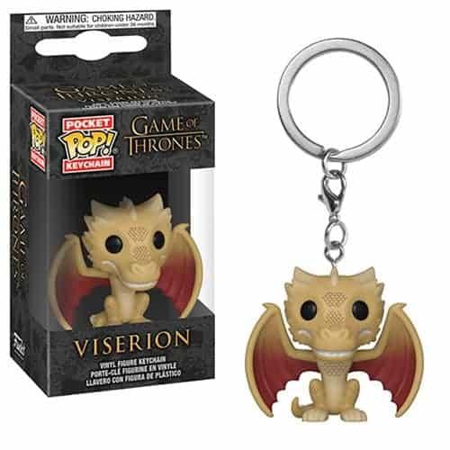 Game of Thrones Viserion Pocket Pop! Keychain Keychains