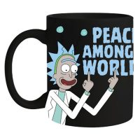 Rick and Morty Peace Among Worlds Coffee Mug Mugs