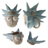 Rick and Morty Rick Sanchez Molded Mug Mugs