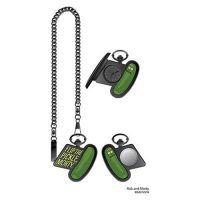 Rick and Morty Flip the Pickle Morty Pocket Watch Watches