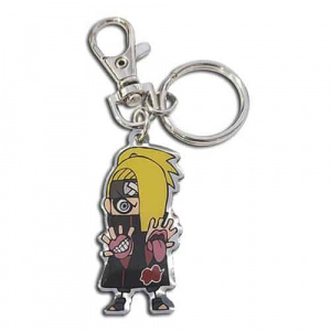 Naruto Shippuden Deidara Metal Keychain Keychains