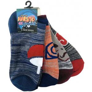 Naruto Shippuden Icons 5 Pack Novelty Ankle Socks Socks