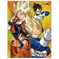 Dragon Ball Super Battle of Gods Group Throw Blanket Blanket