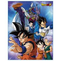 Dragon Ball Super Group Throw Blanket Blanket