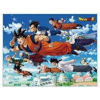 Dragon Ball Super Universal Survival Group Throw Blanket Blanket