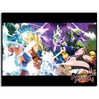 Dragon Ball Fighterz Key Art Sublimination Throw Blanket Blanket