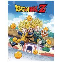 Dragon Ball Z Trunks and Goten Sublimination Throw Blanket Blanket