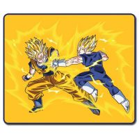 Dragon Ball Z SS Goku vs SS Vegeta Throw Blanket Blanket