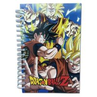 Dragon Ball Z Super Saiyan Goku Hardcover Notebook Journals