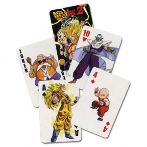 Dragon Ball Z Playing Cards Playing Cards
