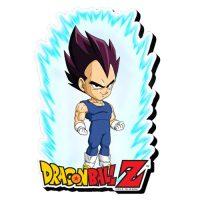 Dragon Ball Z Vegeta Youth Funky Chunky Magnet Magnets