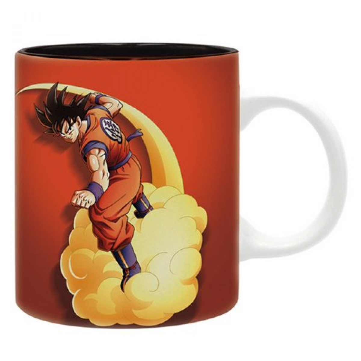 Dragon Ball Z Kakarot: Goku Flying on Nimbus Cloud Mug Mugs 4