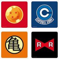 Dragon Ball Z Symbols 4-Pack Coasters Set Coasters