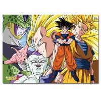 Dragon Ball Z Goku and Enemies 520-Piece Puzzle Puzzles