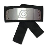 Naruto Shippuden Naruto Leaf Village Black Headband Cosplay