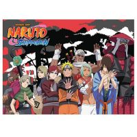 Naruto Shippuden Jinchuriki Group Wall Scroll Posters