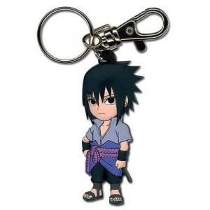 Naruto Shippuden Super Deformed Chibi Sasuke Keychain Keychains