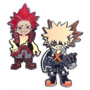 My Hero Academia Kacchan and Red Riot Pin Set Pins