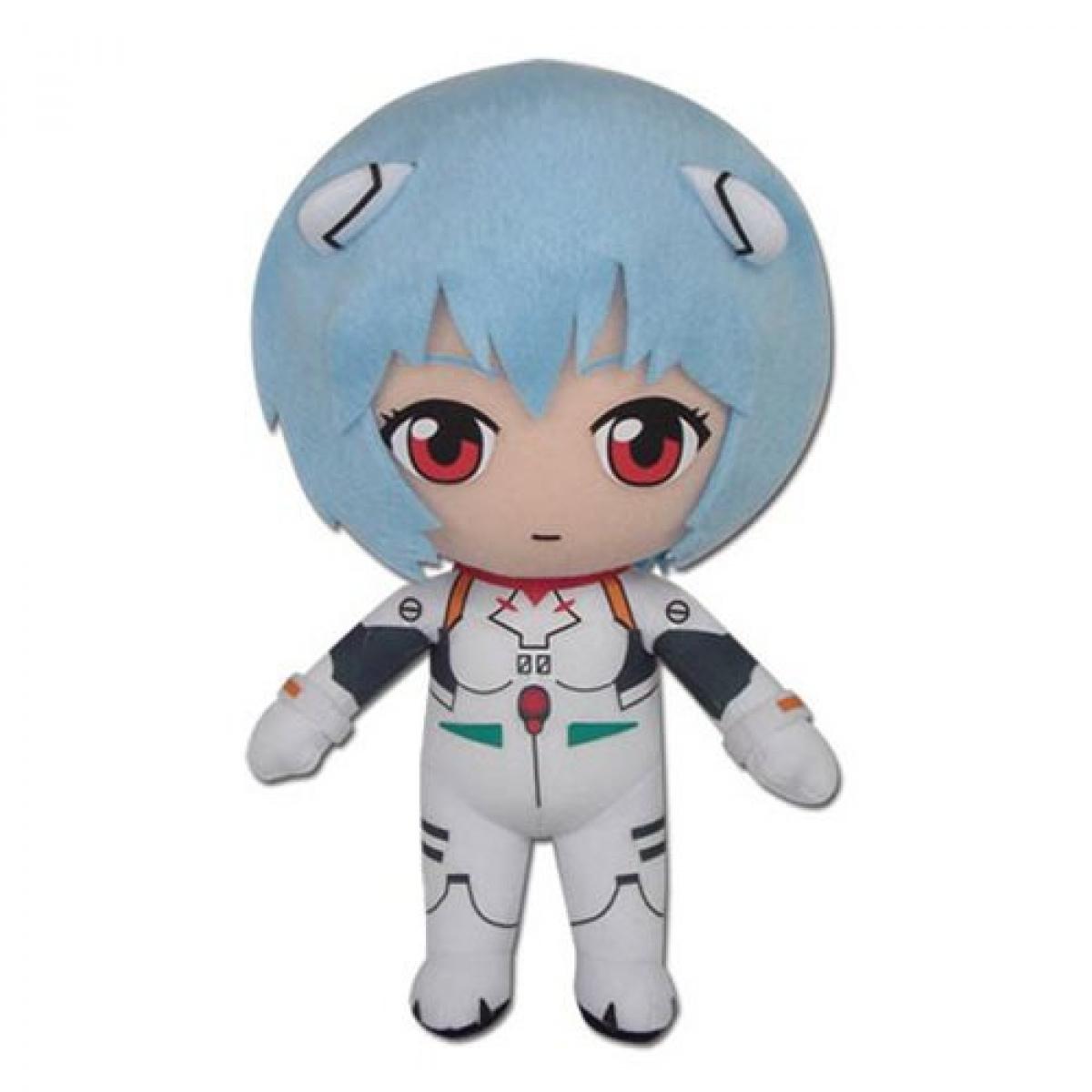 Neon Genesis Evangelion Rei Ayanami Plugsuit 8″ Plush Plushies 4