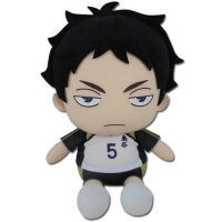 Haikyuu!! S2 Keiji Akaashi Sitting Pose 7″ Plush Anime Plushies