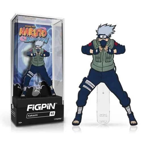 Naruto Shippuden Kakashi FiGPiN Enamel Pin Pins
