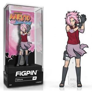 Naruto Shippuden Sakura FiGPiN Enamel Pin Pins 4