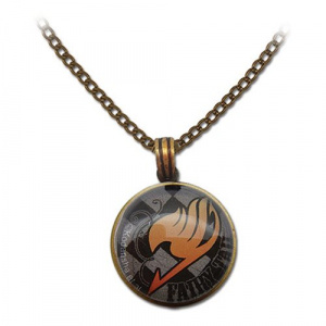 Fairy Tail Guild Emblem Grid Necklace Jewelry