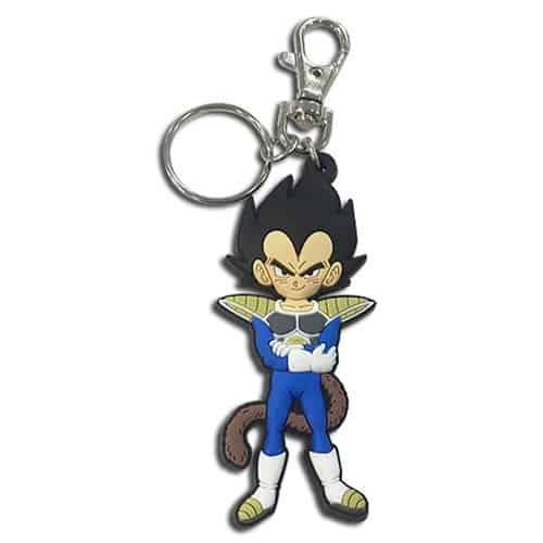 Dragon Ball Super: Broly Vegeta Kid PVC Key Chain