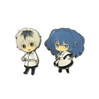 Tokyo Ghoul Haise and Saiko Pin Set