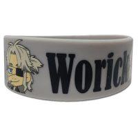 Gangsta Worick PVC Wristband Bracelet Jewelry