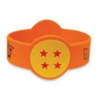 Dragon Ball Super Dragon Ball 4 Star PVC Wristband Bracelet Jewelry