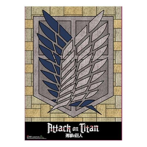 Attack on Titan Survey Corps Wall Scroll