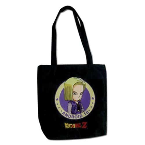 Dragon Ball Z Android 18 Tote Bag
