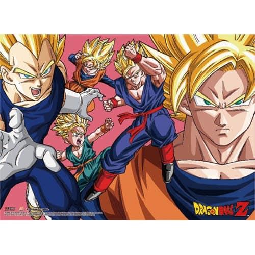 Dragon Ball Z Saiyan Group Wall Scroll