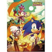 Sonic the Hedgehog Comic Cover Art 4 Wall Scroll