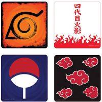 Naruto Shippuden 4-Pack Coaster Set Coasters