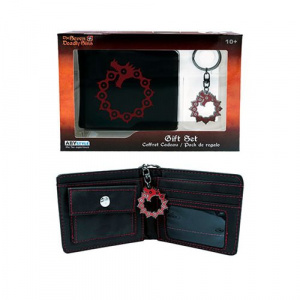 The Seven Deadly Sins Wallet and Keychain Gift Set Wallets
