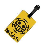 One Piece Trafalgar Law Luggage Tag Luggage Tags
