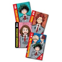 My Hero Academia School Uniforms Group Playing Cards Playing Cards