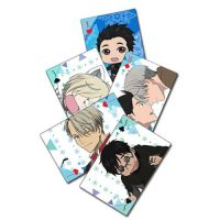 Yuri on Ice Playing Cards Playing Cards