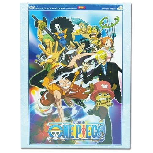 One Piece Group 1,000-Piece Puzzle Puzzles