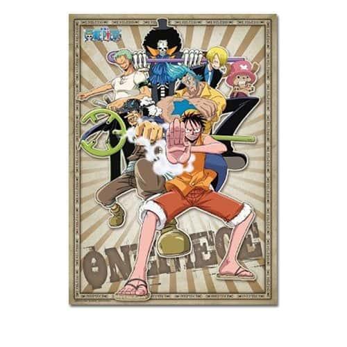 One Piece Men Battle Pose Group 300-Piece Puzzle Puzzles
