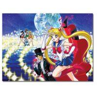 Sailor Moon Group 1,000-Piece Puzzle Puzzles