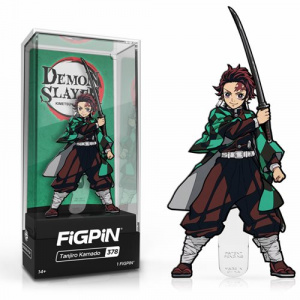 Demon Slayer Tanjiro Kamado Figpin Classic Enamel Pin Pins