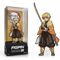 Demon Slayer Zenitsu Agatsuma Figpin Classic Enamel Pin Pins
