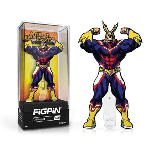My Hero Academia All Might Version 2 FiGPiN Enamel Pin Pins