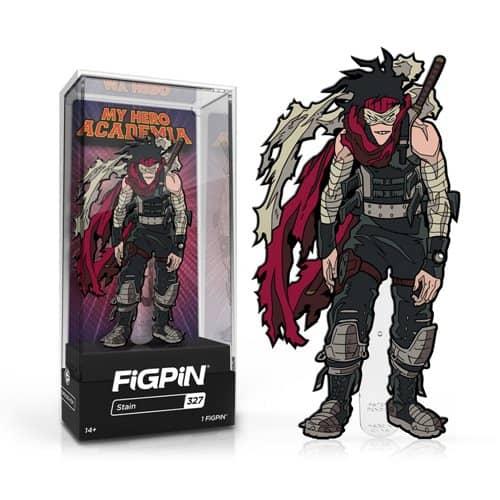 My Hero Academia Stain FiGPiN Enamel Pin Pins