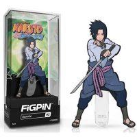 Naruto Shippuden Sasuke FiGPiN Enamel Pin Pins
